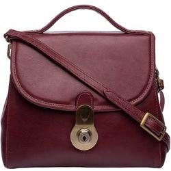 Marina Women's Handbag, Soweto Maori,  red