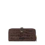 Hongkong W2 Sb (Rfid) Women s Wallet Croco,  brown