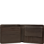 278-L107f Men s Wallet, Roma Lamb,  brown