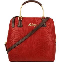 Royale 02 Women's Handbag, Snake Ranchero,  marsala
