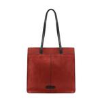 HIDESIGN X KALKI BOSS 03 WOMEN S SHOULDER BAG WAXED SPLIT,  red