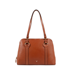 GATSBY 02 WOMEN'S HANDBAG SADDLE,  tan