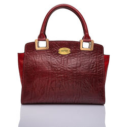 Claudia 01 Handbag, elephant,  red