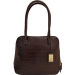 Estelle Small Women s Handbag, Croco,  brown