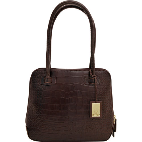 Estelle Small Women s Handbag, Croco,  brown