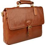Parker 01 Briefcase,  tan, regular