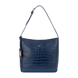 Berlin 03 Sb Women's Handbag, Croco Melbourne Ranch,  midnight blue