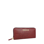 Carly W3 (Rfid) Women s Wallet, Croco,  red