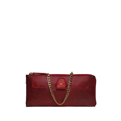 Dolce W2 (Rfid) Women s Wallet, Cement Lizard,  red
