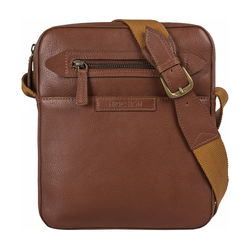 Mackenzie 02 Sb Men's Crossbody, Regular,  tan