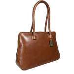 Jaxon Women s Handbag, Camel Roma,  tan