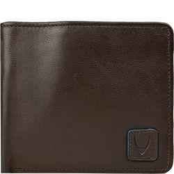 278-L107f Men's Wallet, Roma Lamb,  brown