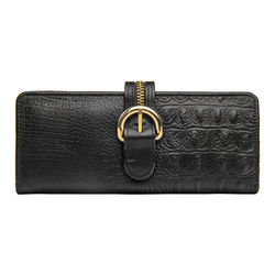 Harajuku W1 (Rfid) Women's Wallet, Baby Croco Ranch,  black