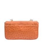 Marne Handbag,  tan, ostrich