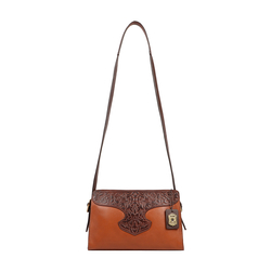 SALLY SCULL 02 WOMENS HANDBAG IDAHO,  tan