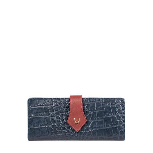 Scorpio W1 Sb (Rfid) Women s Wallet Croco,  midnight blue