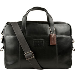 Stephenson 04 Briefcase, soho,  black