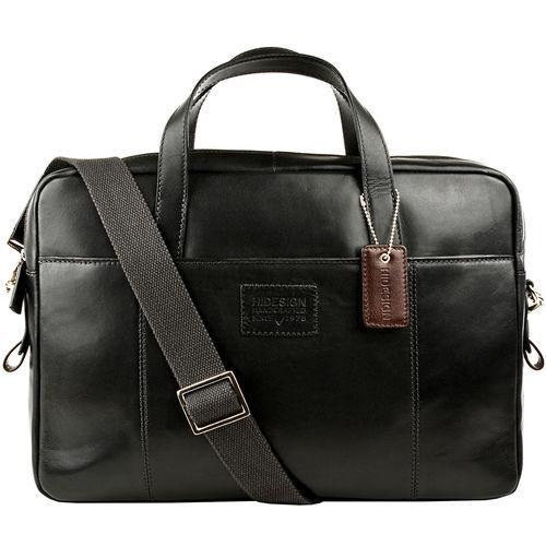 Stephenson 04 Briefcase,  black, soho