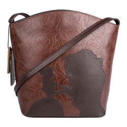Rose 03 Handbag,  brown