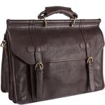 Roma Briefcase,  brown, soweto