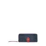 Scorpio W2 Sb (Rfid) Women s Wallet Croco,  midnight blue