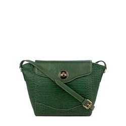 SB GISELE 02, croco,  emerald