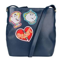 Beast 02 Handbag,  blue