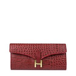 Ee Harper W1 Women's Wallet Croco,  red