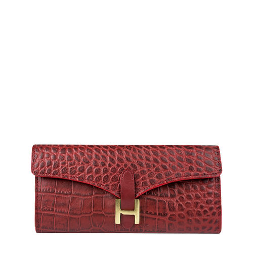 Ee Harper W1 Women s Wallet Croco,  red