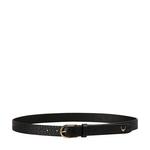 Ee Monica Women s Belt Glazed Croco Printed,  black, 32 34