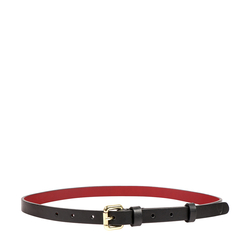 AKIRA WOMENS BELT RANCH, 32-34,  black