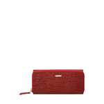 526 (Rfid) Women s Wallet, Croco Ranch,  red