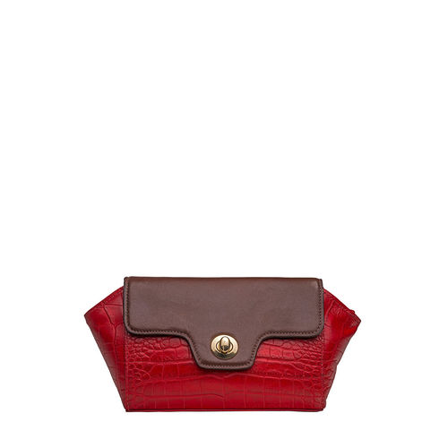 Sb Atria 04 Women s Wallet, Cememnt Croco Ranchero,  red