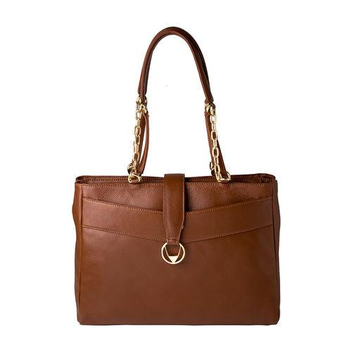 Azha 01 Handbag,  tan, ranchero