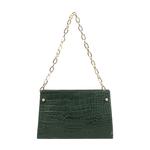 JITTERBUG 03 WOMEN S HANDBAG CROCO,  emerald green