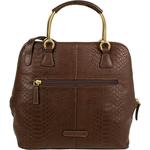 Royale 02 Women s Handbag, Snake Ranchero,  brown