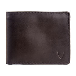 L107 Men's wallet,   grey, regular