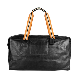 TUBMAN (1344) DUFFLE BAG REGULAR,  black