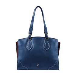 GATSBY 03 WOMENS HANDBAG SADDLE,  blue