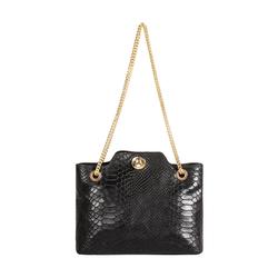 Sb Aliya 01 Women's Handbag Snake,  black