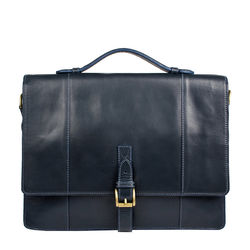 Maverick 02 Briefcase, ranch,  navy blue