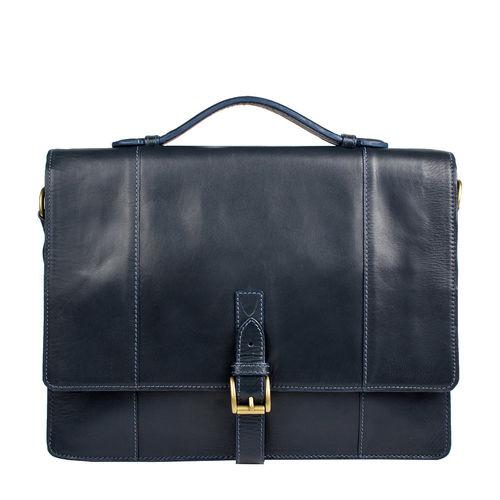 Maverick 02 Briefcase,  navy blue, ranch