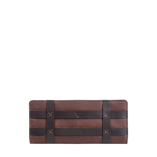 Hidesign x Kalki Freedom W2 (Rfid) Women s Wallet, Waxed Split Mel Ranch,  tan