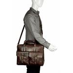 Indigo 02 E. I Briefcase,  brown