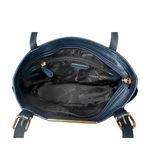 Gemini 01 Sb Women s Handbag, Andora Snake,  midnight blue