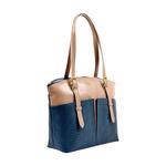 Virgo 01 Sb Women s Handbag, Snake Melbourne Ranch,  midnight blue