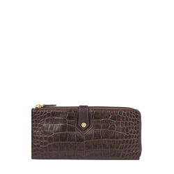 Hongkong W3 Sb (Rfid) Women's Wallet Croco,  brown