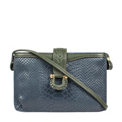 SB FRIEDA W3 WOMEN'S WALLET SNAKE,  midnight blue