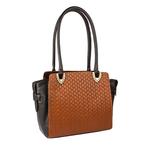 Ee Liya 02 Women s Handbag, Woven,  tan