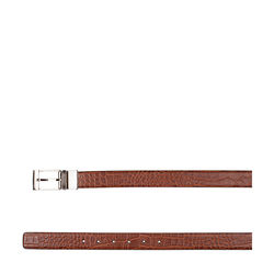 Alex Men's Belt, Croco Ranch, 34-36,  tan